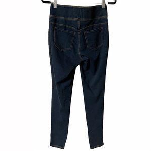 Workshop Republic  Blue Stretch Skinny Ankle Jeans